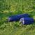 翰光シングルグル组み合せる可能性があります。ダブイルアウドア自动エア入れマットテル湿性防止パッドを携帯しています。厚めのダンブ旅行マット青い*1