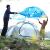 牧高笛アウドゥア防風雨ダンベル二層アルミニウムロッドテートカップル2人野営フルート冷山2 AIR天軒-青(超軽量コーティングシリコン)