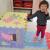 小さいブタの佩奇Peppa Pig両面図EPE環境保護の厚いめのつぎパッド58*58*2 cm赤ちゃんは、立てて进むクッション滑り止めの泡パッド子供用のつぎはぎマット(6枚入り)縄跳び