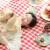 ドリームガーデンレジャパッド湿気防止パッドアウドア携帯超轻春の行楽厚めレジャブール多人可折り畳畳ビーチテートキャンプ地マット2メートルX 2メートル红白格