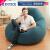 【アメリカINTEX】ベルベッグ背もたれソファ増加大怠け者ソファカジュアルエア入れ椅子現代簡単シート紺色-【商品送りポンプに注目】
