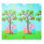 小さいブタの佩奇Peppa Pigレジャーズパッドxpe机械折りたたみ畳マット子供用爬虫パッドビレット芝生マット湿気防止マット200*180*1 cmリンゴの木