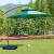 アウドアベニューパラソルバナナ日傘パラソル大庭園傘屋外レジャーガーデン傘ボックス警備露店雨覆いテーンアウドアレジャーガーデン家具傘パラソルアルミニウムロッド3 m酒レッドパラソル防水+モバイルウォーターホルダー