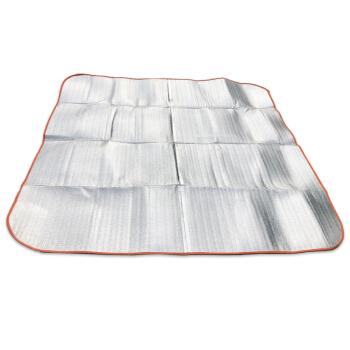 ゴアアルミニウム膜湿性防止パッド厚めめ加幅アウトアレジャマットは、って进むマットマットです。200 x 200 x 0.4 cm両面アルミ膜湿性防止パッドです。