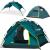 狼行者3-4人アウドア全自動テンダール防水二層厚めアウドアキャンプテン墨緑三用モデル
