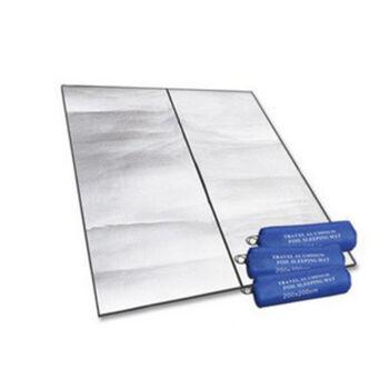砂漠の狐アウドアルミナ膜湿气防止パッド厚いめの防水湿气防止マット200*200 cmアルミ膜湿气防止パッド