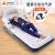 吉龍(jilong)エ入レベッド家庭用アウトラド畳みみマット取り外しが可能です。背もたれの怠け者のソファベッドシンゲル厚め款191×99×70 CM