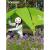 テートアウドアキャンプ用品三人スピーディープオープン防水アウドアキャンプ装備アウドゥアサンシェード小豆/灰TEDI 80802