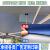 雨蓮夜市テート傘の露店は、厚めの露店です。アウドアル折り畳の四角い大きな傘テート3 x 3屋根雨屋夜市防水四脚サンバイザー2 x 2日焼け止め銀ペースト耐折布(赤)