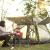 狼行者テンアウドア3-4人家族スーツキャンプキャンプキャンプキャンプ防水野外全自動テート迷カラーLXZ-1056