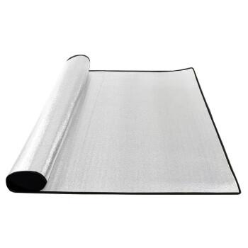 Roamhike湿气防止パッドアウドア厚いめ加幅防水湿气防止テートの両面にアルミ膜レジカマット200*150【両面アルミ膜マット】