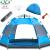 盛源(SHENGYUAN)二階六角全自動テンティア3-5人通気防水ホームキャンプテンブルー