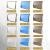 アルミニウム合金の雨幌透明無声雨陽棚雨に雨風を乗せてテラスの空の翻り窓の調日よけ雨棚アウドア耐久板PCパネルの窓棚棚の雨棚の静音完成品は壁100 cmをカスタマイズして壁に貼り付けて80 cmの高強度アルミ合金を伸ばすことができます。